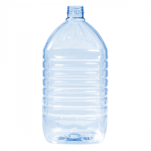 Plastic bottle for pure water