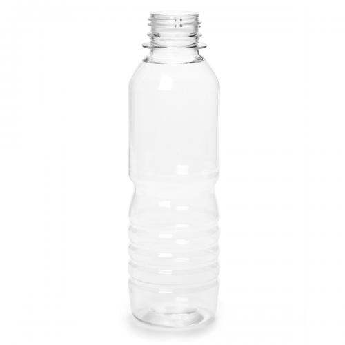 Plastic bottles for fruit juice